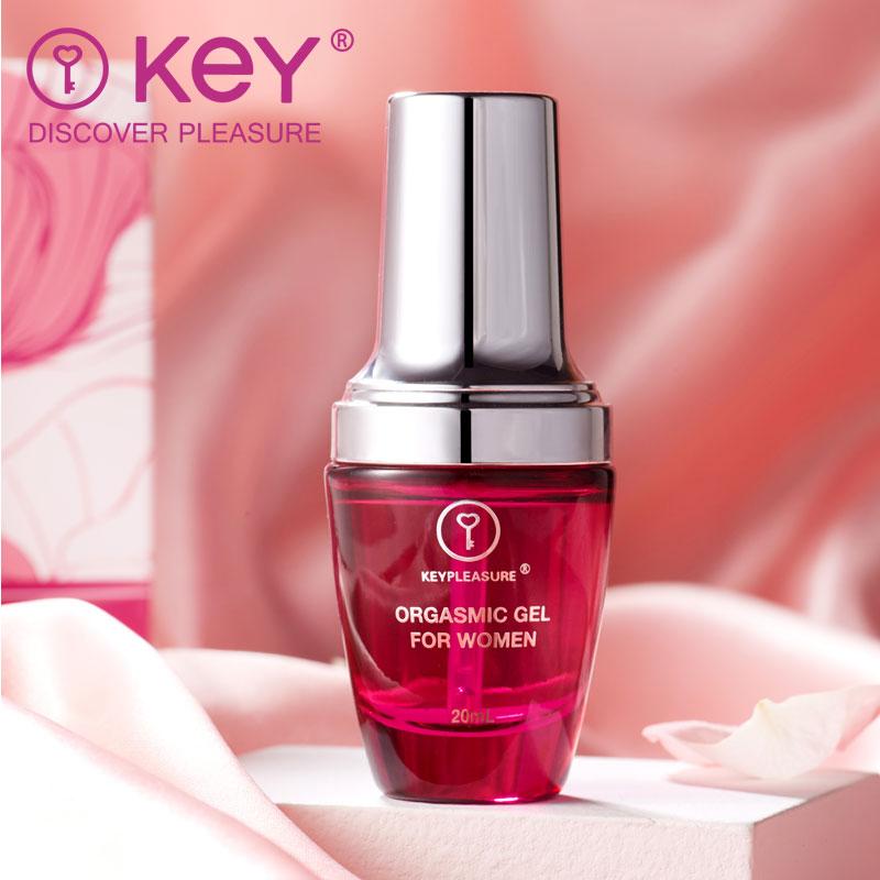 KeY女用快感高潮增强液情趣性用品夫妻润滑凝露按摩油