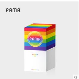FAMA彩虹套系列超薄003玻尿酸避孕套