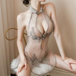 情趣内衣旗袍性感制服诱惑小胸激情调情套装