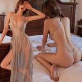情趣内衣性感透视透明睡衣骚床上免脱变态激情挑逗制服诱惑套装女