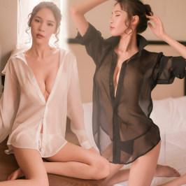 情趣内衣服装透明骚睡衣制服诱惑激情性感开档免脱女火辣床上超骚